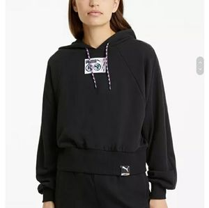 Puma  Women's Active Graphic Hooded Sweatshirt